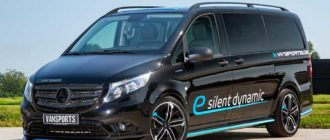Специалисты VanSports доработали дизельный и электрический Mercedes-Benz Vito